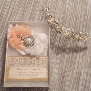 Accessories - Bridal Garter & Hair Accessory